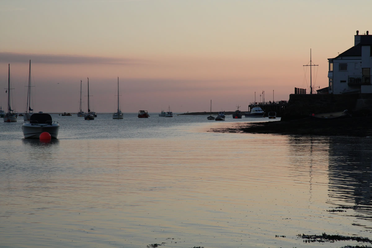Sunset over Aberdovey